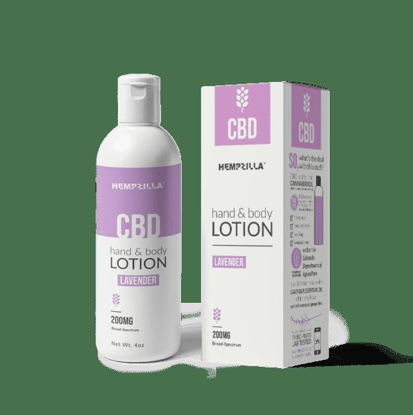 cbd lotion lavender