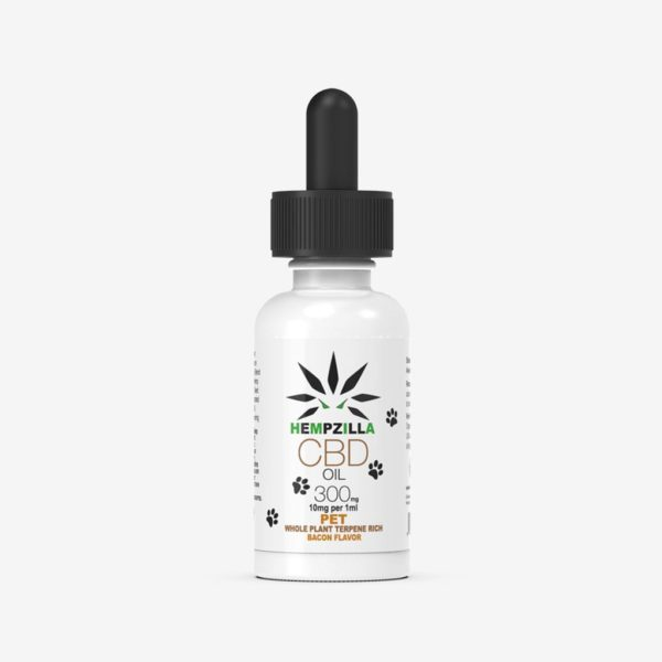 300 MG Pet Tincture Bottle