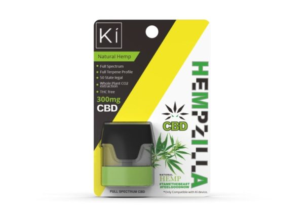 hemp ki pod natural Hempzilla CBD