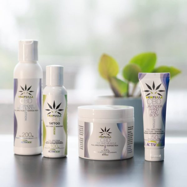 CBD Topical Collection