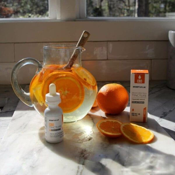 hempzilla cbd orange flavored tincture 1 Hempzilla CBD