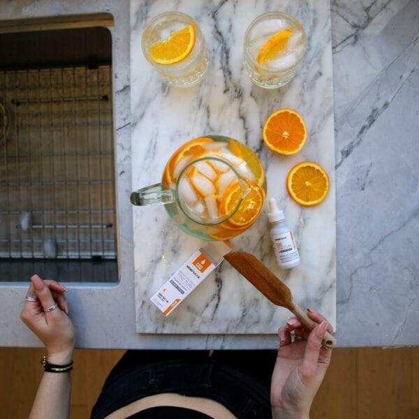cbd orange flavored water orange tincture hempzilla