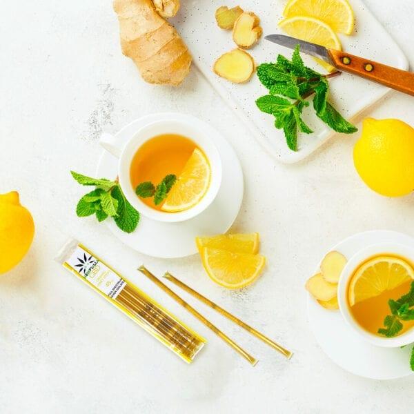 honey stick with ginger square Hempzilla CBD
