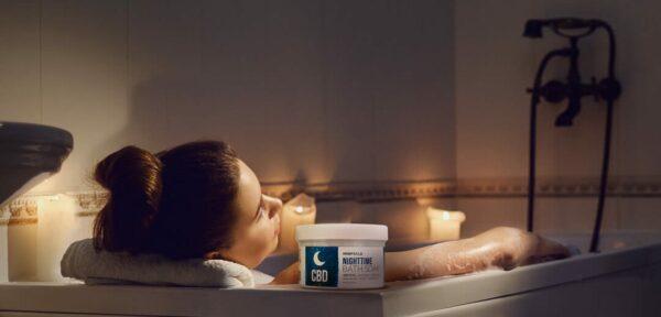 nighttime bath 3 e1611175481496 Hempzilla CBD