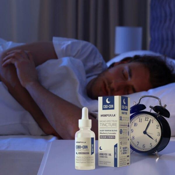nighttime cbd cdn tincture