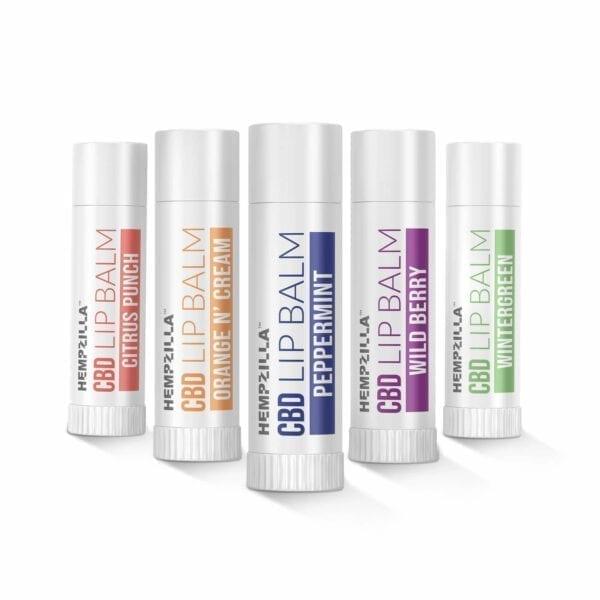 lip balm set product 1 Hempzilla CBD