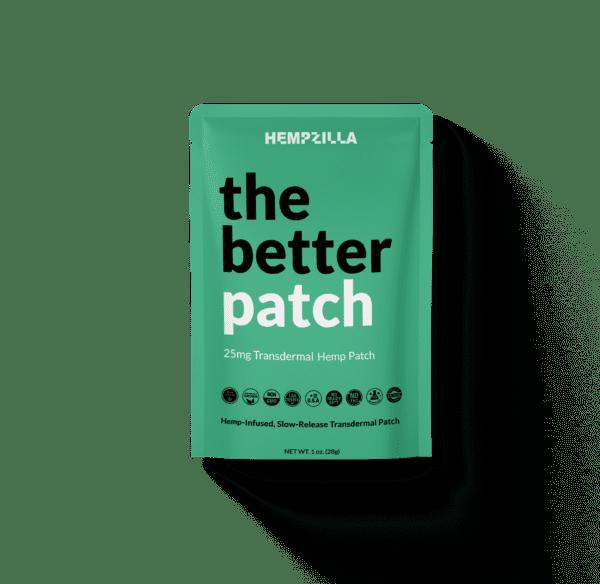the better patch sachet HEMP e1601566028779 Hempzilla CBD