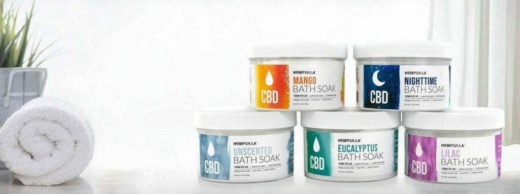Why CBD Bath Soaks hempzilla