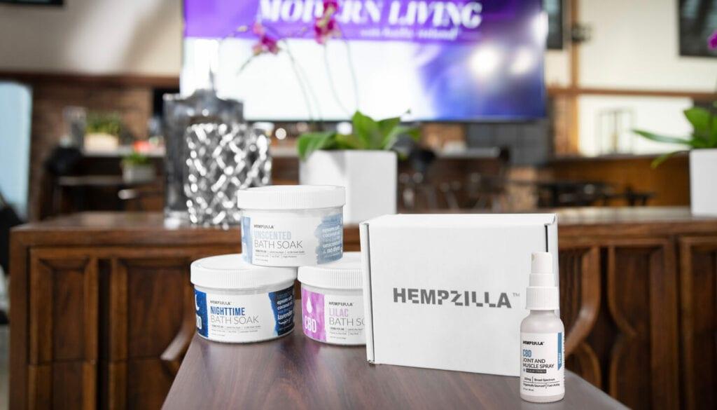 hempzilla cbd modern living with kathy ireland products