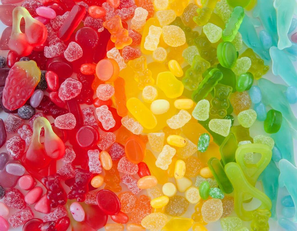 cbd gummies rainbow