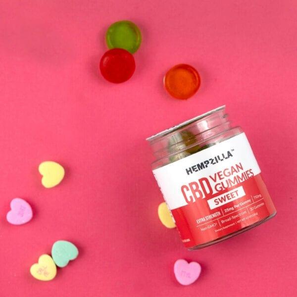 valentines gummies