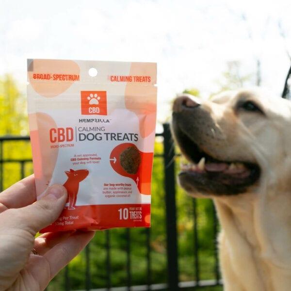 dog treats alt5 Hempzilla CBD